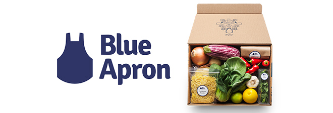 2-pk. $50 blue apron gift cards: $65