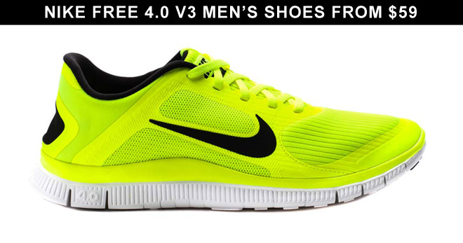 wholesale wholesale sales finest selection Nike Free 4.0 V3 Men's Shoes from $59