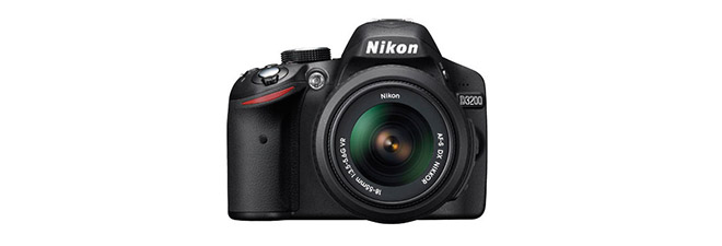 how to take off lens d3200