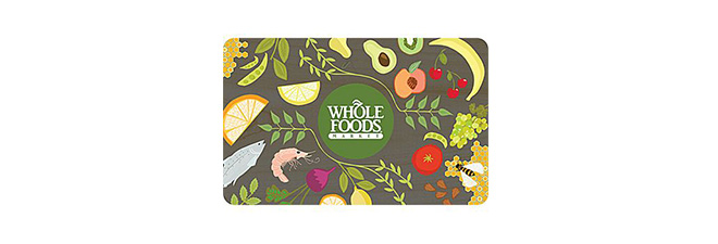 $50 Whole Foods Market Gift Card: $42