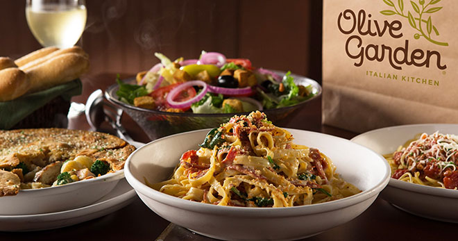 Olive Garden Buy One Take One Free