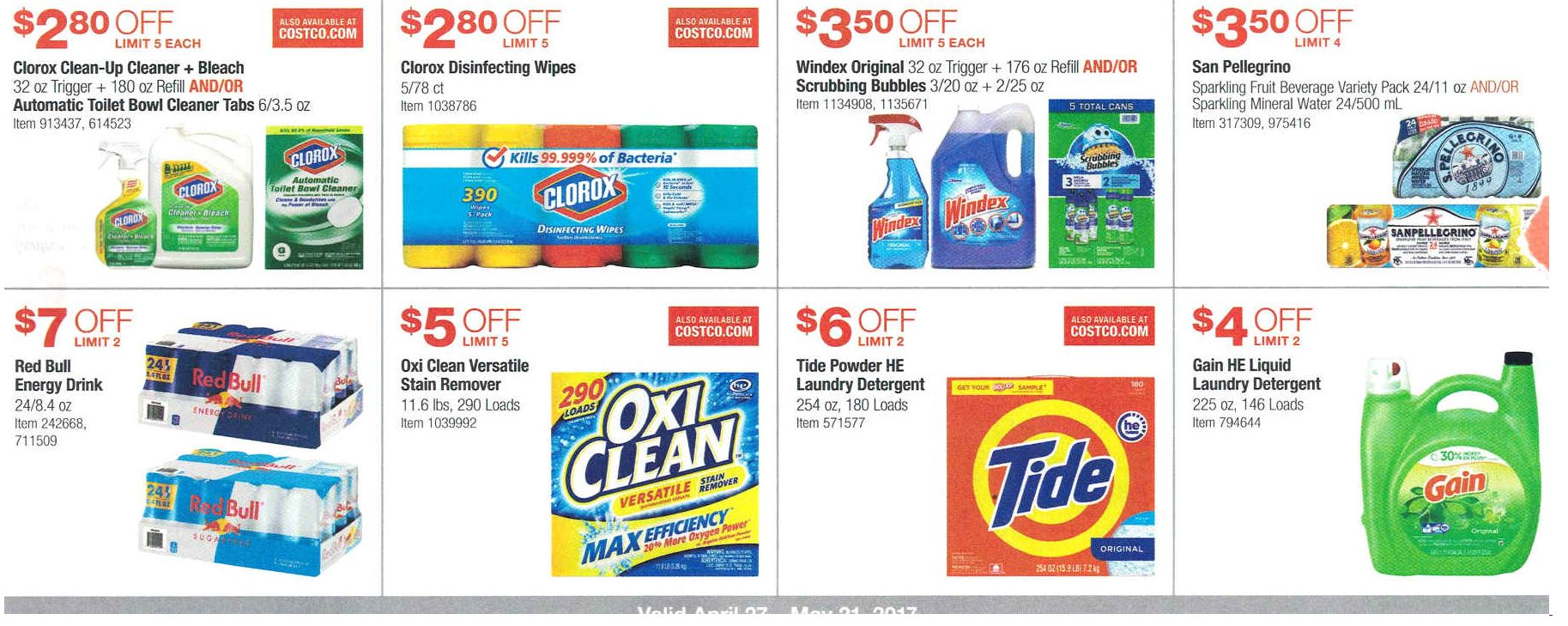 Costco coupons may 2019