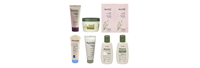 Aveeno Sample Box + $8 Credit: $8
