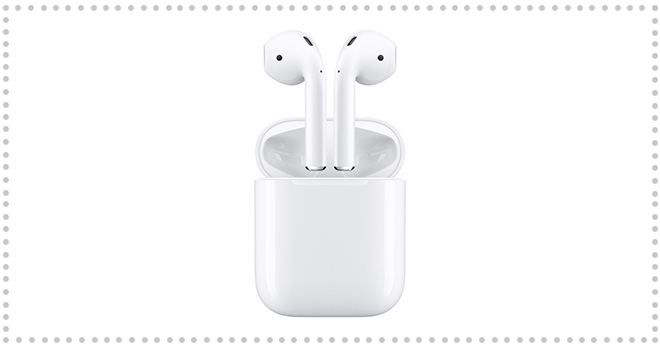 Apple AirPods Bluetooth Earbuds: $20 Off